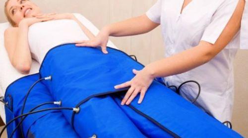 Presoterapia en la piel de naranja